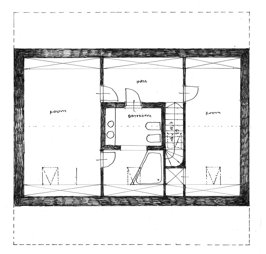 attic plan