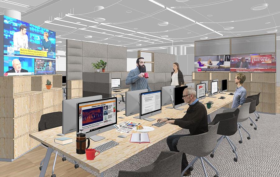 JS agora 06 newsroom